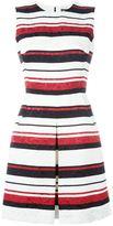 Dolce & Gabbana striped brocade dress - women - Cotton/Viscose/Silk/Polyamide - 42