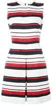 Dolce & Gabbana striped brocade dress