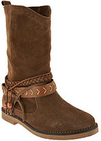 Coolway Suede Mid Calf Pull-on Boots- Arabis