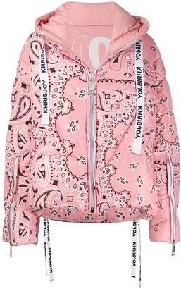 Khrisjoy Bandana padded coat