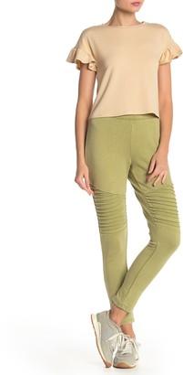 Material Girl Moto Knit Jogger Pants