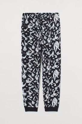 H&M Patterned Pajama Pants