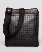 Salvatore Ferragamo Gamma Soft Embossed Small Messenger