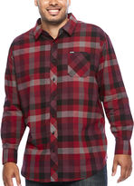 Zoo York Long-Sleeve Mercury Woven Plaid Shirt - Big & Tall
