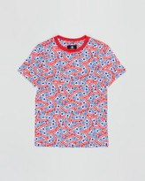 Converse Licence Plate Allover Print Tee - Teens