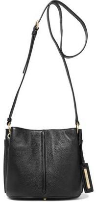 Donna Karan Alan Pebbled-leather Shoulder Bag