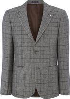 Peter Werth Men's Haviland Wool Mix Check Blazer