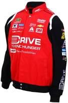 JH Design Jeff Gordon Drive to End Hunger Nascar Jacket Size 2XLarge