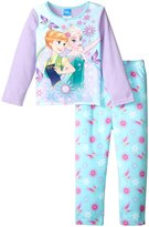 Nickelodeon Frozen 2 Piece Pajama Set (Toddler) - Purple - 3T