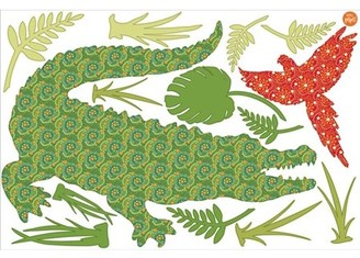 Brewster Home Fashions WallPops Amos The Crocodile Wall Art Kit