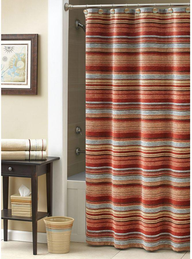 Croscill Flagstaff 70-Inch x 72-Inch Shower Curtain