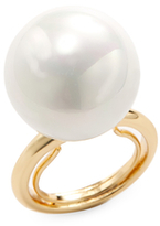 Kenneth Jay Lane Large Pearl Cocktail Ring