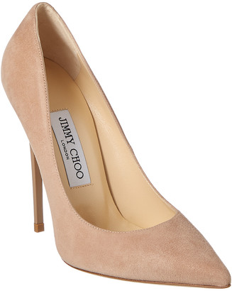 Jimmy Choo Anouk 120 Suede Pump