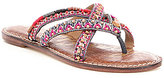 Sam Edelman Criss-Cross Beaded Karly Sandals