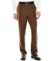 Louis Raphael Flat-Front Mini-Herringbone Dress Pants - Classic Fit