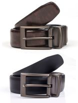 Dents Mens reversible leather belt