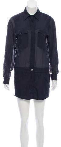 Isabel Marant Paneled Mini Dress w/ Tags