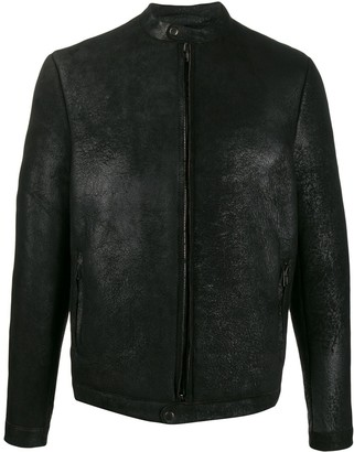 Salvatore Santoro Minimalist Leather Jacket
