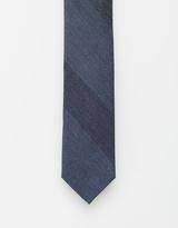 Calvin Klein Stripe Silk Tie