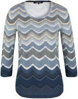 Olsen Printed Shirt Long Sleeves