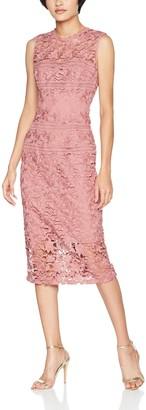 Little Mistress Women's Crochet Lace Bodycon Dress Party