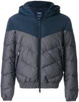 Armani Jeans two-tone padded jacket