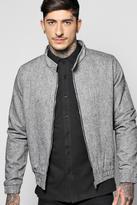 Boohoo Textured Herrington Jacket