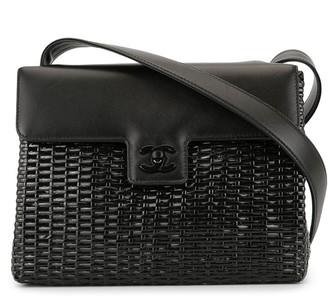 Chanel Pre Owned woven CC shoulder bag