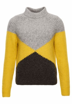 Superdry Women's Super Lux Diamond Ribbed Crew Sweater
