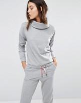 Vero Moda Shimmer Roll Neck Sweatshirt