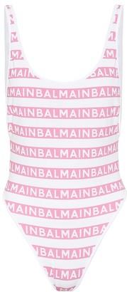Balmain Printed swimsuit