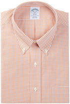 Brooks Brothers Mini Gingham Regent Fit Shirt