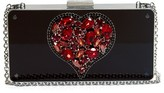 Lanvin Heart-embellished clutch