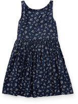 Ralph Lauren 2-6X Floral Fit-And-Flare Dress