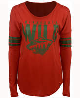 '47 Women's Minnesota Wild Courtside Long Sleeve T-Shirt