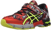 Asics Gel-Noosa Tri 11 PS Running Shoe Little Kid, Black/Flash Yellow/Orange, 10 M US Little Kid