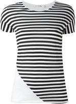 Rag & Bone Jean - striped T-shirt - women - Cotton - L