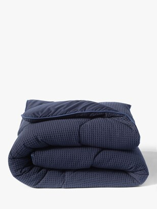 The Fine Bedding Company Night Owl Waffle Coverless Duvet, 10.5 Tog