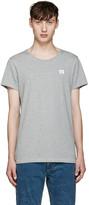 Acne Studios Grey Standard Face T-shirt
