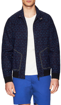 Marc by Marc Jacobs Zip Up Printed Golf Jacket