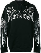 Marcelo Burlon County of Milan printed hooded sweatshirt - men - Cotton - M