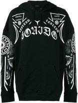 Marcelo Burlon County of Milan printed hooded sweatshirt - men - Cotton - XXS