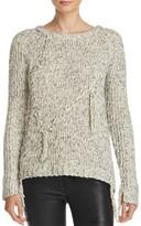 Ella Moss Kiarah Braided Fringe Sweater