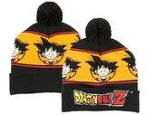 Bioworld Dragonball Z Pom Cuff Beanie Winter Hat