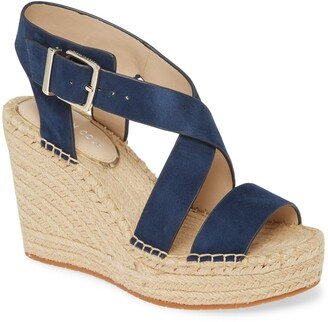 Kenneth Cole New York Olivia Espadrille Wedge Platform Sandal