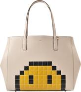 Anya Hindmarch Ebury Pixel Smiley shopper bag