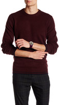 Ben Sherman Mod Tipped Crew Neck Pullover Sweater