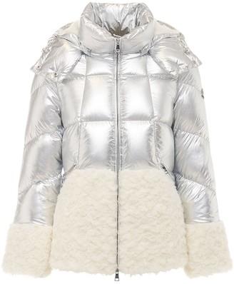 Moncler Cny Algenubi Metallic Down Jacket