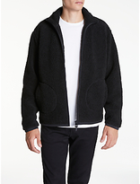 Edwin Insulate Sherpa Jacket, Black