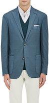 Boglioli Men's Hopsack Two-Button Sportcoat